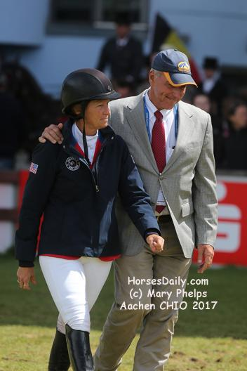 Beezie and Frank Madden at Aachen 2017