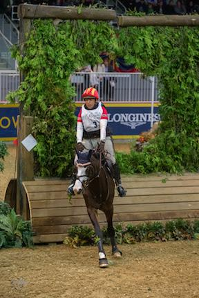 Bruce Davidson, Jr., of the United States finished as the runner-up riding Wundermaske in his Royal Horse Show® debut.