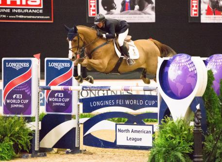 Callan Solem (USA) and VDL Wizard, second place in the qualifier of this exciting league.