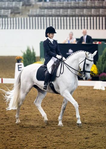 Cecilia Cox and Winnie Too will compete at their third U.S. Dressage Finals after winning the GAIG Fourth Level Test 3 Adult Amateur Championship