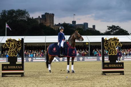 Charlotte Dujardin and Mount St John Freestyle Dominated the Freestyle at the Royal Windsor Horse Show