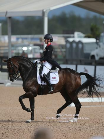 Charlotte Dujardin and Mount St John Freestyle