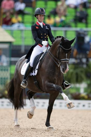 Charlotte Dujardin GBR riding Valegro. Olympic Games Rio 2016