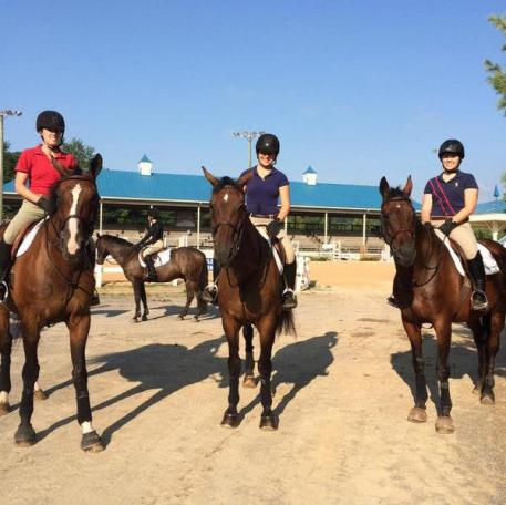 Chatham Hall riders ready for the clinic