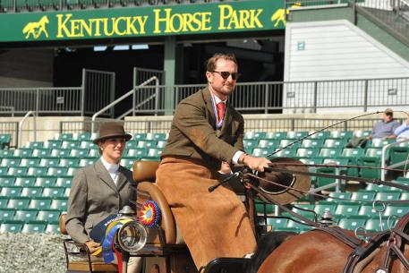 2015 Kentucky Classic CAI2*, Chester Weber, Four-in-Hand Driving Championships