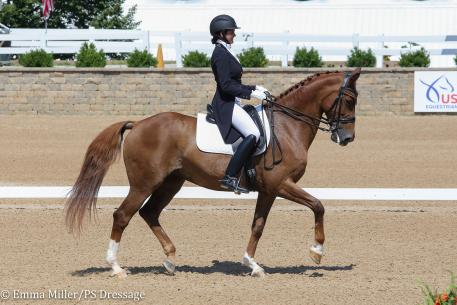 Molly Paris and Countess (Photo: Emma Miller/PS Dressage)