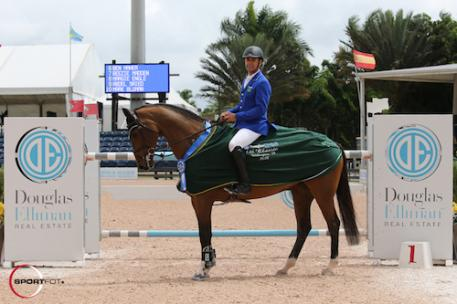 Doda de Miranda and AD Nouvelle Europe Z in their winning presentation.