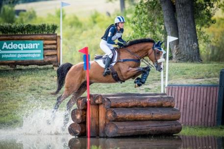 Emilee Libby at the 2018 American Eventing Championships (AEC). (Photo: Shannon Brinkman Photography)