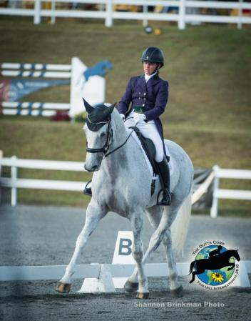 CCI** leader Emily Beshear and Silver Night Lady.