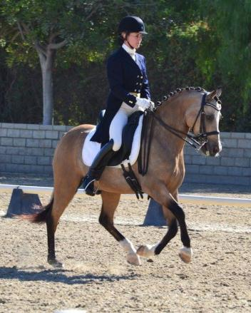 Emily Lasher and Dolce will travel all the way from California to compete in this year's Pony Cup in Kentucky.