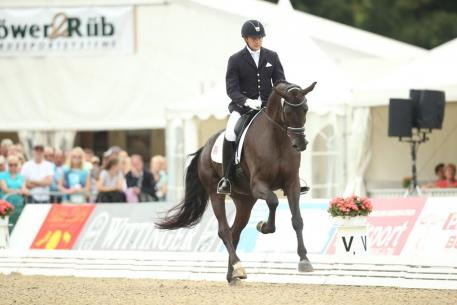 Endel Ots, Lucky Strike, Lord Laurie, His Highness, Young Dressage Horse World Championships, Verden, 2015