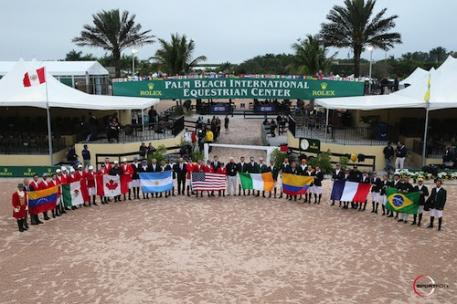 The FEI Nations Cup is a popular class featuring team competition