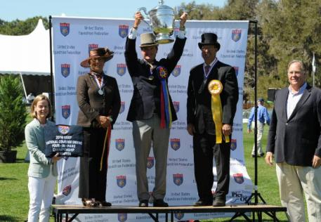 Chester Weber Receives USEF Four-In-Hand Trophy