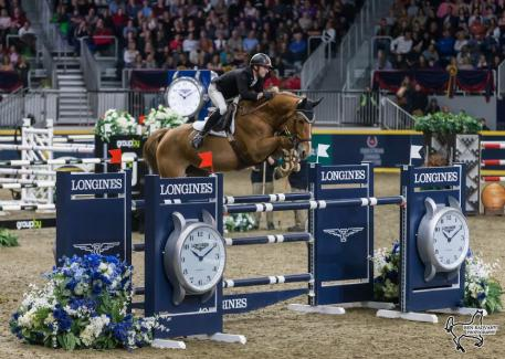Canada's own François Lamontagne of St. Eustache, QC, took second in the $87,000 GroupBy Big Ben Challenge on home soil riding Chanel du Calvaire in the final international show jumping event of the CSI4*-W Royal Horse Show in Toronto, ON.