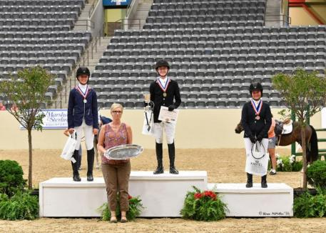 Pony Jumper Individual medalists, pony finals 2016