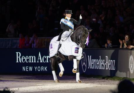 Isabell Werth (GER) with Weihegold OLD (Photo: Stefan Lafrentz/FEI)