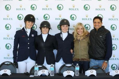 Katherine Strauss, Tori Colvin, Madison Goetzmann, Equine Couture, TuffRider, Laurie and Timmy Sharma