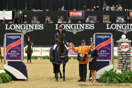 Kent Farrington wins the $250,000 Longines FEI World Cup™ Jumping Lexington, presented by CP