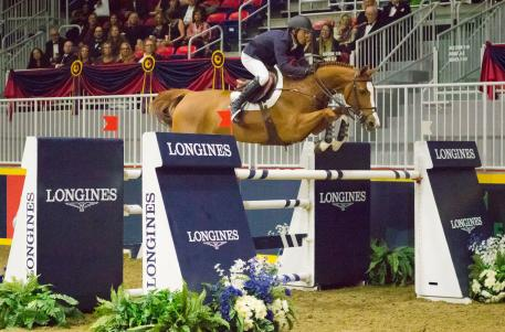 Kent Farrington (USA) and Creedance, second place in the qualifier of this exciting league.