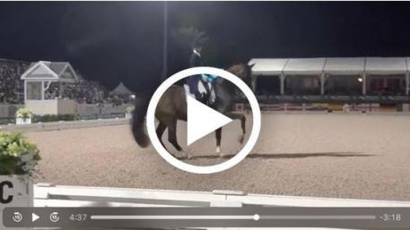 Watch Laura Graves' winning CDI5* freestyle test on Verdade