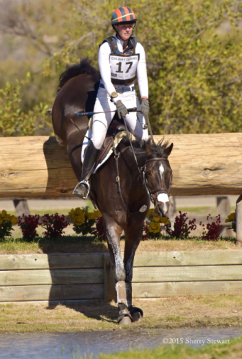 Lauren Kieffer and Meadowbrook's Scarlett advance to second place in the CCI3*