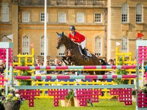 Lauren Kieffer and Veronica, Blenhiem Palace horse trials 2015