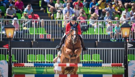 Lucy Davis and Barron, rio olympics 2016