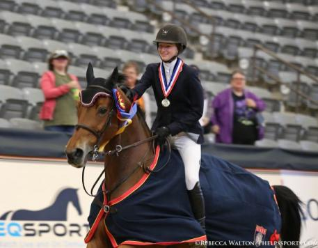 Lucy Deslauriers and Hester