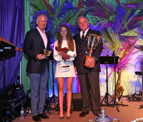 Jim McNerney, Lucy Deslauriers and S Tucker S Johnson, 2016 Lionel Guerrand-Hermès Trophy