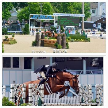 In May, Maggie Jayne and Pony Lane Farm's The Answer won the USHJA International Hunter Derby at the prestigious Devon Horse Show.