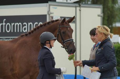 Marina Lemay, Auction Rider Juliane Kunze-Brettschneider, International Dressage and Jumping Festival, Verden