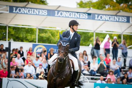 Mclain Ward (USA) and HH Carlos Z, local rider in the qualifier of this exciting league. Photo RedBayStock.com/FEI