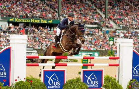 One rail down was not enough to keep Michael Jung of Germany from winning Rolex Kentucky aboard FischerRocana FST