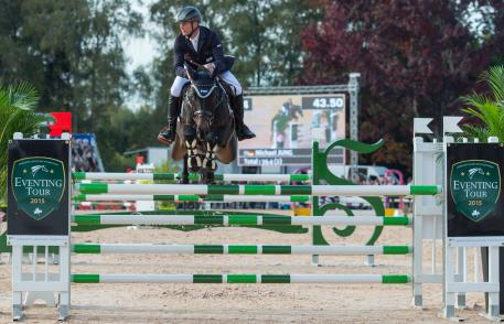 Michael Jung of Germany riding Fischerrocana FST taking part in the Show Jumping phase of the CCI Four Star Etoiles De Pau International Horse Trials on Sun 25th October 2015