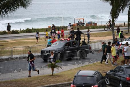 Military Keeping it safe in Rio