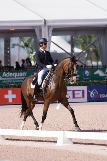 Sahar Daniel Hirosh and Whitman Adequan Global Dressage Festival
