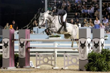 Paige Matthies and Climbus (Photo: Callie Clement/Phelps Sports)