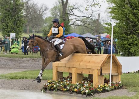 Phillip Dutton (USA) rides Fernhill Fugitive during the cross country phase of the 2016 Rolex Kentucky Three Day Event, Presented by Land Rover.