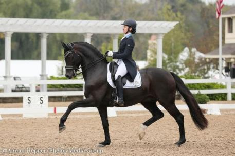 Rachael Hicks and Don Cartier 2016 USDF Region 2 Championships