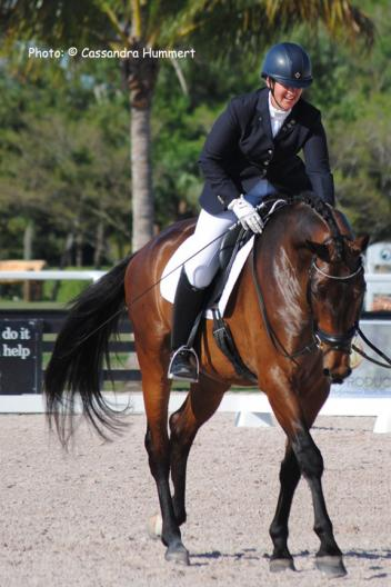 Reese Koffler-Stanfield and the 6-year-old KWPN gelding, Town and Country Elancour