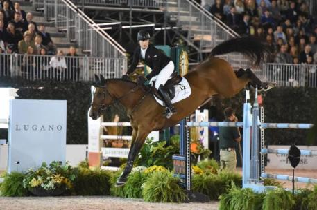 Sharn Wordley and Barnetta Photo by Josh Walker for The Chronicle of the Horse