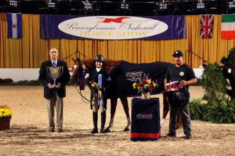 Grand Pony Hunter Champion Spellbound and Caroline Passarelli
