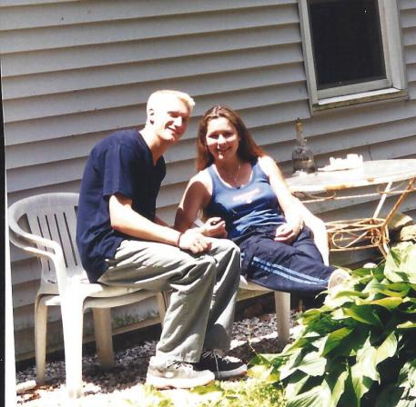 Stacy and Olof, early years