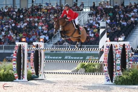 Steve Guerdat and Bianca (Photo: ©Sportfot)