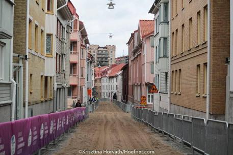 City Streets of Gothenburg ready for the driving marathon