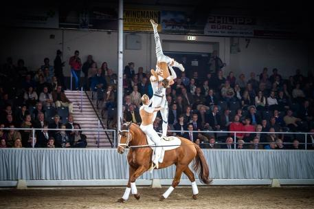 Team Neuss, German Vaulting Championships in 2015