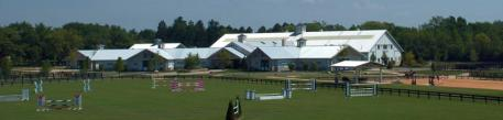 The equestrian center at Old Barrington Estates.