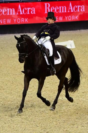 "Tristan Tucker entertains with ""Fun Dressage""."