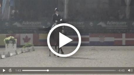 Watch Ashley Holzer and Havanna 145's winning Grand Prix freestyle test. Video courtesy of Richard's Equine Video.