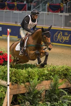 Seven-time winner Waylon Roberts of Port Perry, ON, was back to score victory in the $20,000 Horseware Indoor Eventing Challenge on opening night of the Royal Horse Show® in Toronto, ON.